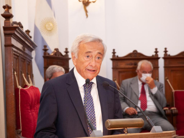 Roberto Falistocco apertura año judicial 2021