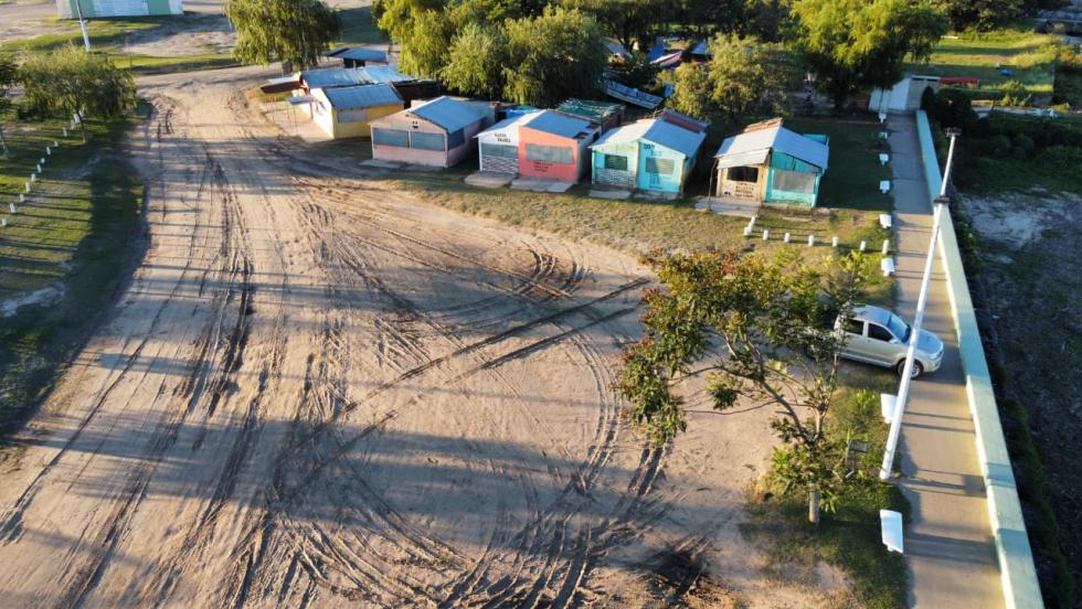 Puerto chipa puerto deportivo puerto reconquista drone