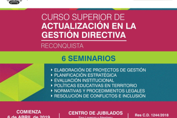 CURSO DE ACTUALIZACIÓN EN LA GESTIÓN DIRECTIVA