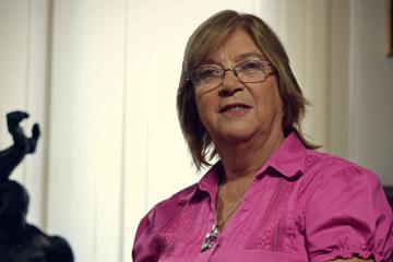 Licenciada en Ciencias Políticas Lilia Puig de Stubrin.