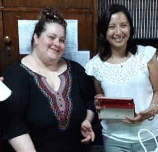 Carolina González y Natalia Gregoret directora y sec Escuela 462 separadas del cargo en julio 2019 ok.png.jpg