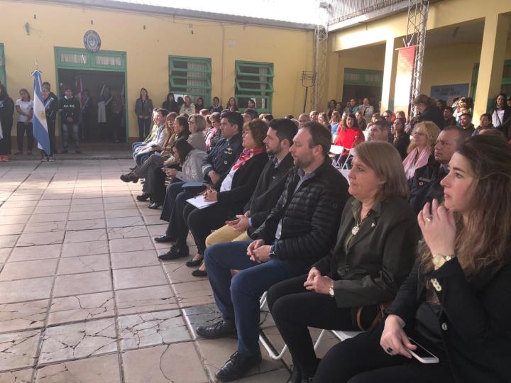 Acto Fallecimiento de San Martín en Avellaneda.