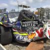 """""""Podría haber sido peor, la seguridad del auto es muy buena"""", dijo Marcos Muchiut en dialogo con Gustavo Raffin. El piloto de Guadalupe Norte viene de protagonizar un tremendo accidente en el circuito"""