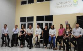 Roberto Spontón presentó el gabinete con el que el radicalismo vuelve a gobernar la ciudad de Malabrigo.