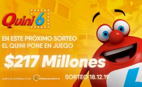 Un apostador se llevó más de 6 millones de pesos en el Quini 6.