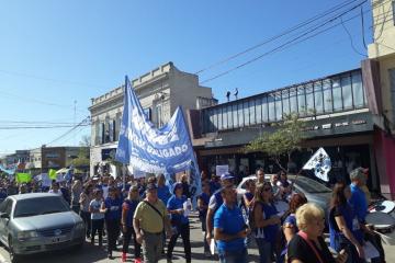 Movilización de AMSAFE y SADOP este lunes 2 de marzo en Reconquista.