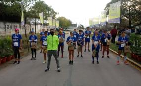 10 K de Reconquista: 20 atletas recrearon la prueba.