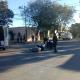 Un motociclista fue trasladado al Hospital luego de protagonizar un accidente.