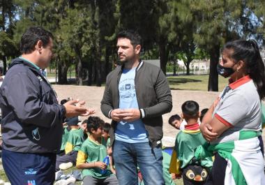 Con más de 300 niños, Avellaneda llevó adelante un encuentro de la Liga CRECER