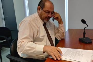 Fiscal Alejandro Rodriguez en tribunales