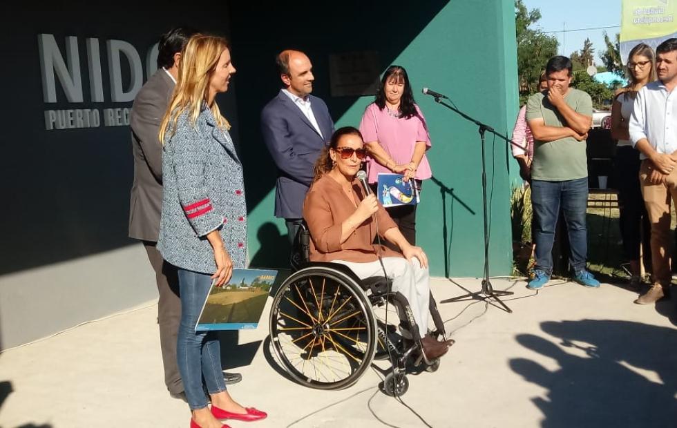 Con discursos de la vicepresidenta Gabriela Michetti y del intendente Enri Vallejos, quedó inaugurado un edificio en Puerto Reconquista.