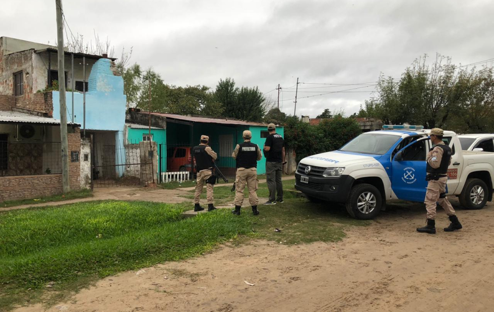 Prefectura realizó 13 allanamientos y detuvo 11 personas por drogas en Reconquista, Avellaneda, Santa Fe y San Pedro.
