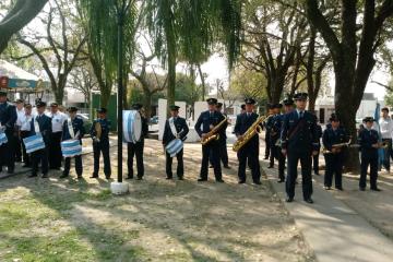 17082019 acto San Martín banda de música Pucará III Brigada Aérea.jpg