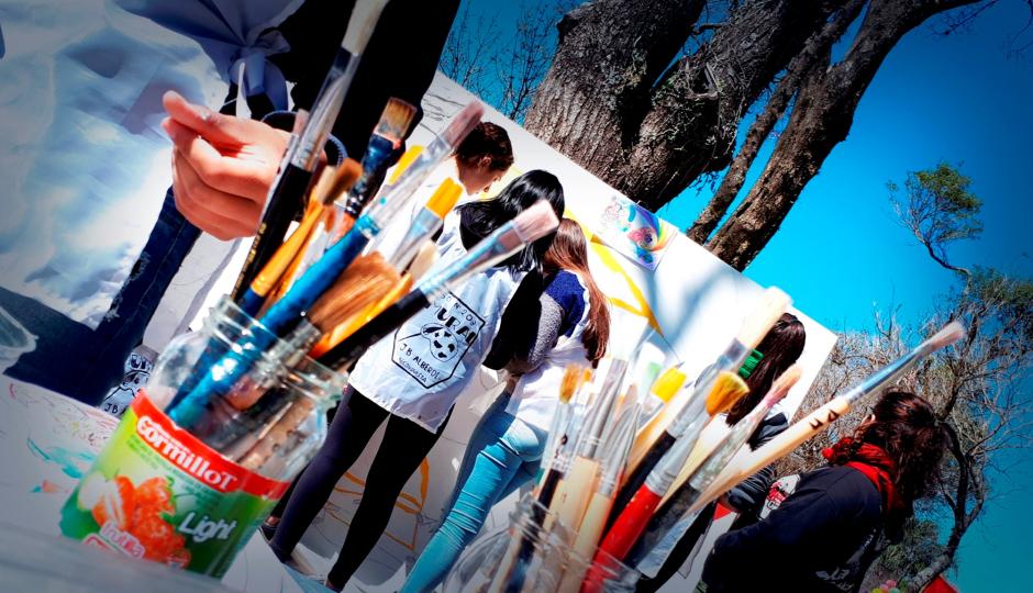 29 equipos participaron de la disciplina mural de la Estudiantina Olímpica 2019. Los ganadores.