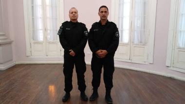 Fabián Agustiní y Gustavo Retamozo