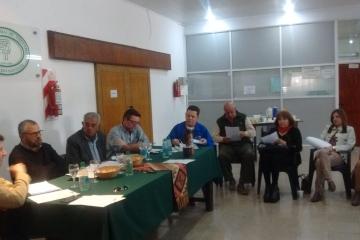 Reunión de CORENOSA en Tostado.