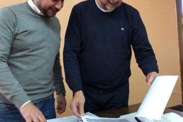 Marcos Cleri y Omar Perotti