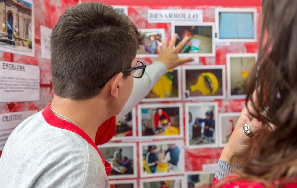 """Es hoy!!!. Invitan a visitar la """"Feria de Ciencias y Tecnología"""" que se realiza este martes en la Escuela Pocho Lepratti."""