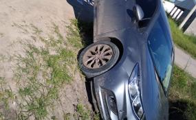 Mirá cómo quedó este flamante automóvil luego de un choque en la ciudad.