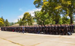 La provincia incorpora 478 nuevos policías. Los efectivos serán distribuidos en las diferentes Unidades Regionales.
