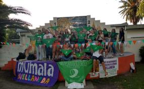 19 F. En Avellaneda también se expresaron a favor del aborto legal. Varias fotos y un mensaje para la comunidad y para las autoridades. Texto completo.
