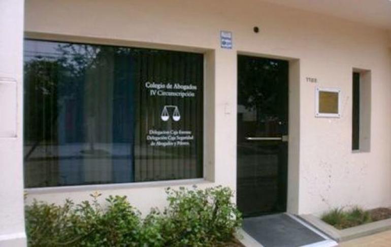 colegio de abogados de Reconquista