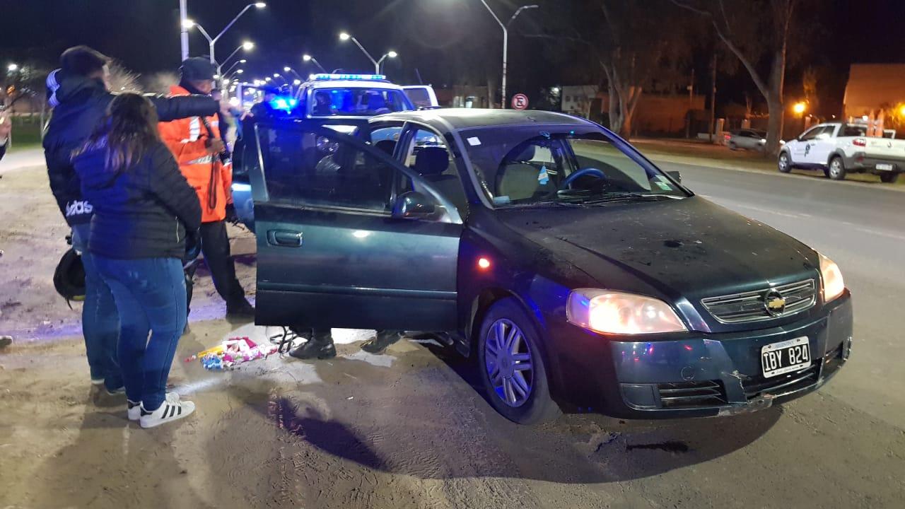 02082018 retencion de vehículo y chofer preso Bulevar Yrigoyen d.jpg