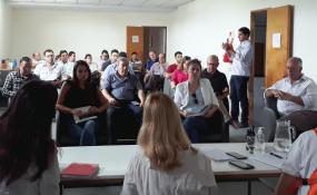 El Comité de Operaciones de Emergencias Regional se reunió con intendentes y presidentes comunales.