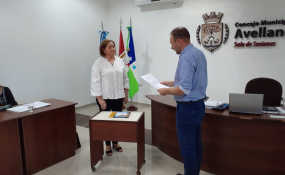 Juró la nueva concejal de la ciudad de Avellaneda y 2 de los 3 concejales que asumieron en diciembre ya no ocupan sus bancas.