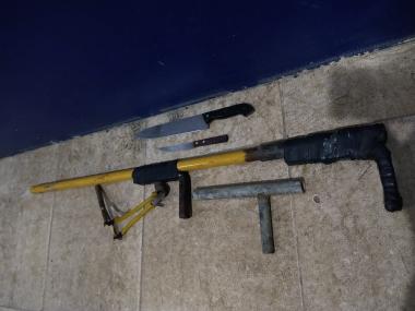 Portación indebida de armas de fuego.