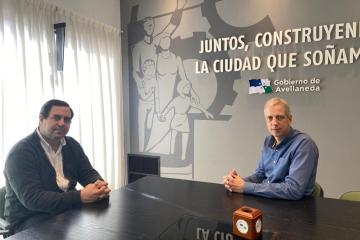 Amadeo Enrique Vallejos y Dionisio Scarpin