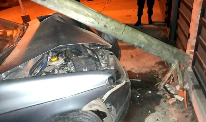 03082018 Ariel Petrucci auto robado y chocado.jpg