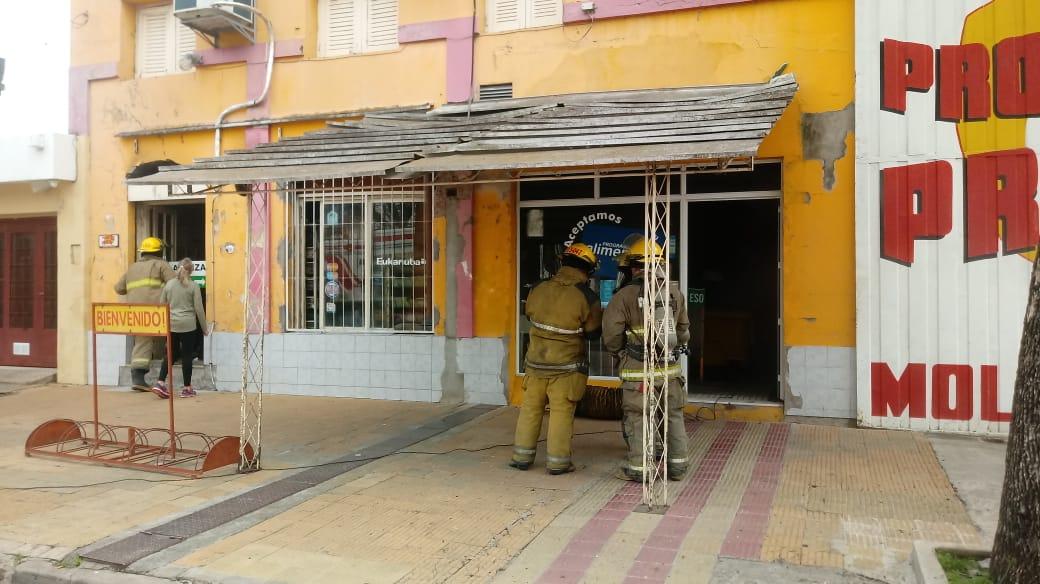 Incendio en Productos Prieto