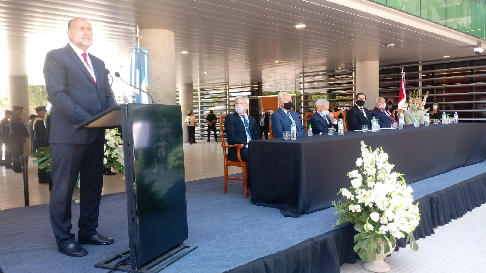 Inauguraron el nuevo edificio del Poder Judicial en Reconquista