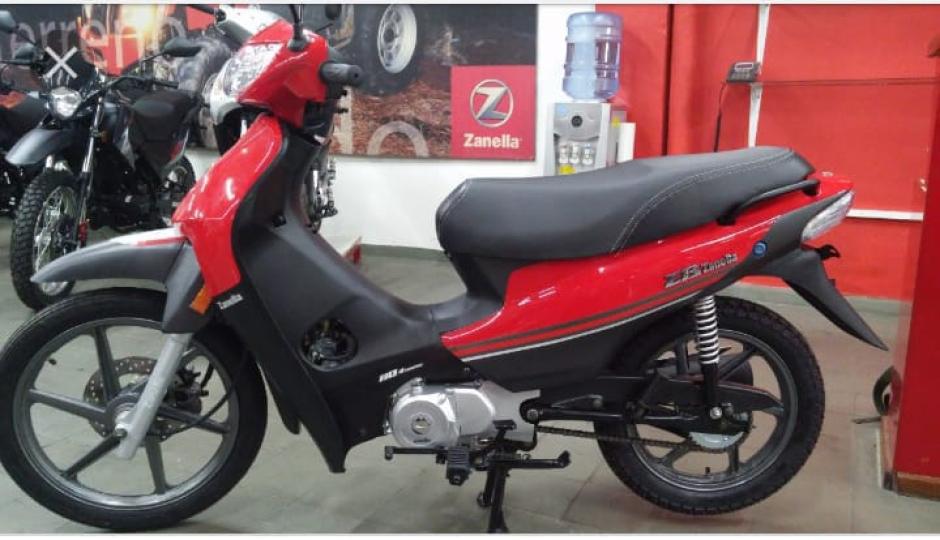Le robaron la moto en pleno centro