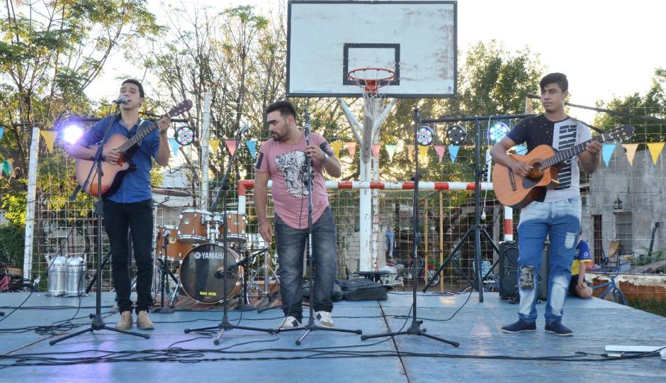 """""""Mi Barrio tiene Música"""" llega este domingo a Barrio Unidos."""