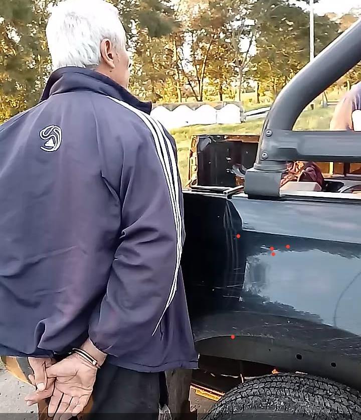 11052019 policía de seguridad vial conductor Campagnoli Hugo Aldo aprehendido.jpg