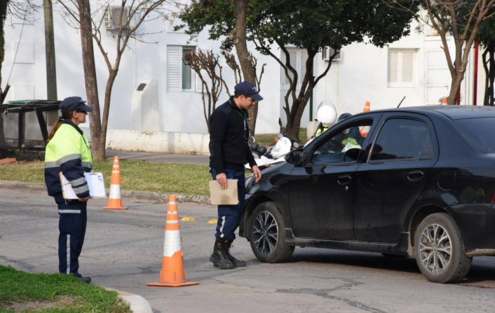 Resultados de los controles viales realizados por el gobierno de Avellaneda.