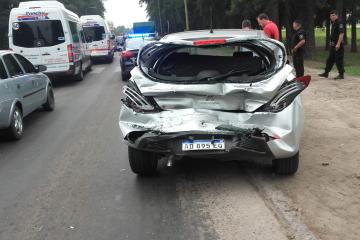 02112019 choque múltiple en Ruta 11 Avellaneda.jfif