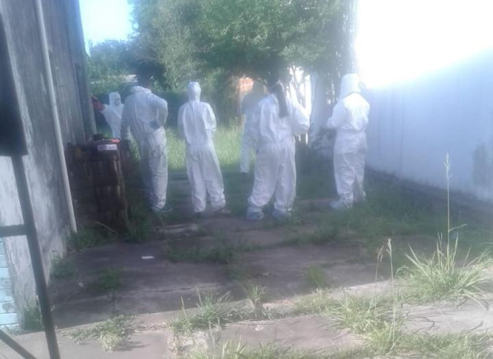03112019 cadaver de Isabel Baez en su casa de Barrio Zulema B.jfif