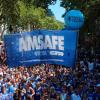 Docentes y estatales se movilizaron en Santa Fe y Rosario contra el diferimiento de pago de salarios.