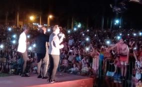 Unas 10 mil personas disfrutaron del cierre de la Fiesta Provincial del Sol en Romang. Imágenes y vídeos.