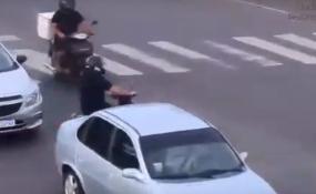 Rápido accionar del Centro de Monitoreo Municipal, disparó el protocolo de intervención en un accidente de tránsito.