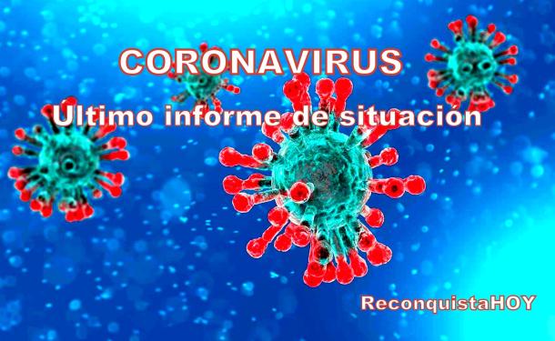 Situación del Coronavirus al terminar el domingo a nivel local, regional, provincial y nacional.