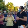 La emotiva despedida a Tato Ocampo en el panteón de la ciudad, con canto y palabras. Fotos y videos.