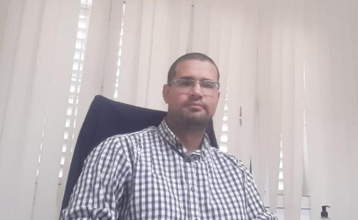 """Adolfo """"Fito"""" Maggio, jefe de la Udai Reconquista de Anses."""