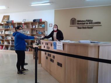 Biblioteca Municipal de Avellaneda.