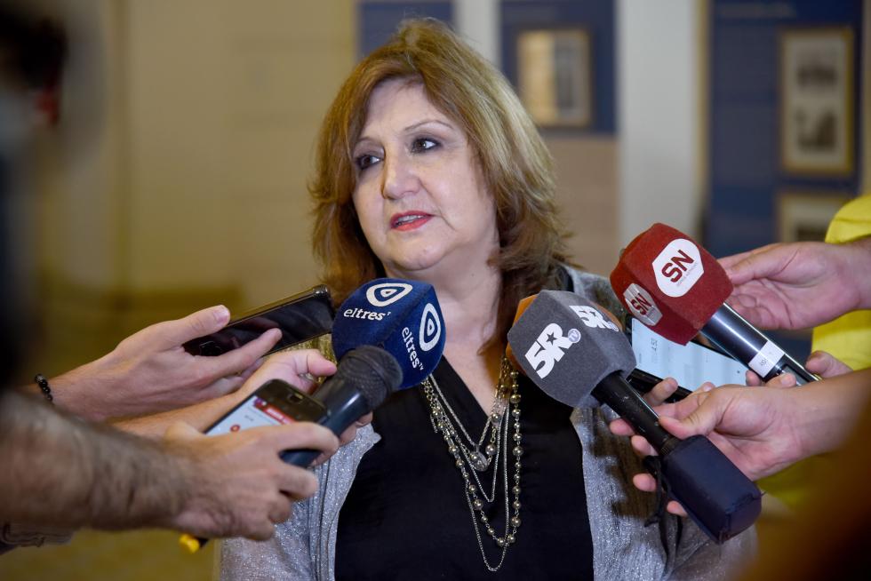 Adriana Cantero, ministra de Educación de la provincia de Santa Fe desde el 11 de diciembre de 2019, gestión Perotti gobernador.
