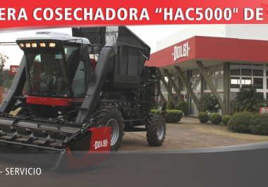 Se presentó la nueva Cosechadora de Algodón autopropulsada HAC 5000 de DOLBI S.A. Una empresa familiar orgullo de la región.