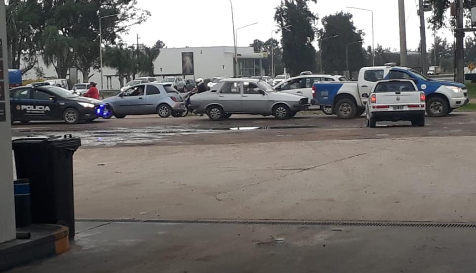 Encontraron el Renault 12 de Cristian Antonio Díaz